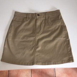 Hollister A-line skirt